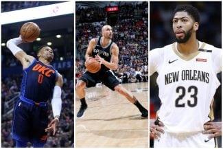 Playoffs NBA: los Spurs, los Thunder y los Pelicans ya están dentro