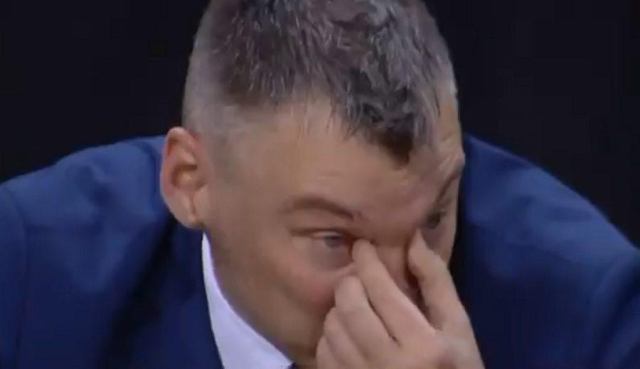 Las lágrimas de Sarunas Jasikevicius tras alcanzar la Final Four