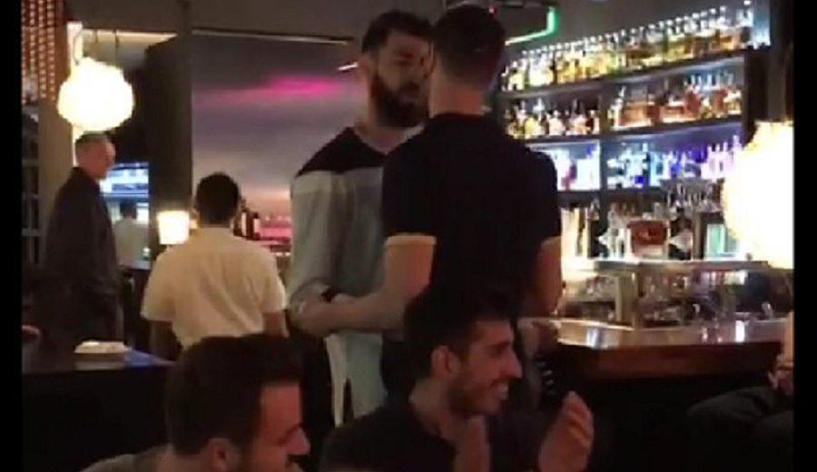 El pique entre Nikola Kalinic y Toko Shengelia acaba… ¡en un restaurante!