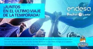Endesa Basket Lover te invita a viajar al Baskonia-San Pablo Burgos