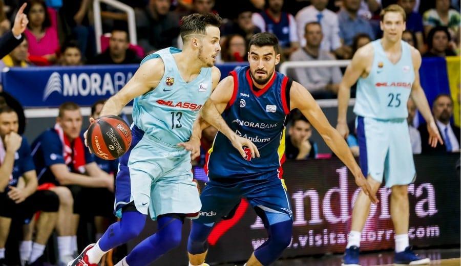 El Barcelona Lassa fuerza el tercer partido ante el Morabanc Andorra