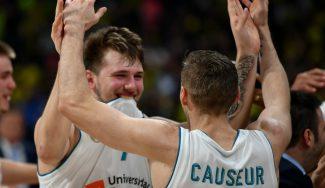 Luka Doncic: «Este equipo tiene coraje, huevos, corazón y cabeza»