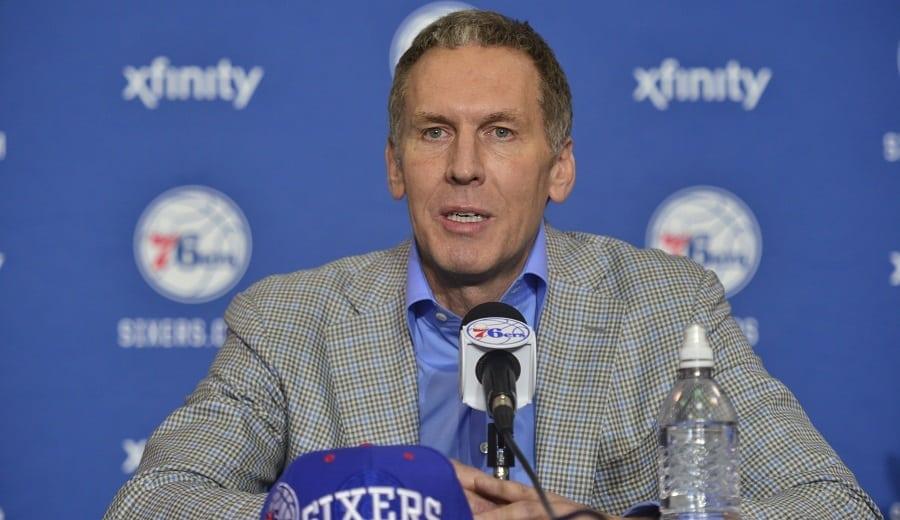 Bryan Colangelo habla del escándalo que le echó de los 76ers