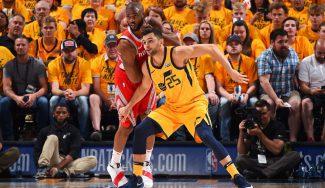 Ricky sigue sin volver y los Jazz vuelven a perder contra los Rockets