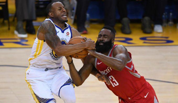 2-1 e histórica diferencia en la victoria de los Warriors ante los Rockets