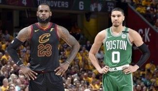 """LeBron se rinde a Tatum: """"Ya es muy, muy bueno y puede ser un gran jugador"""""""