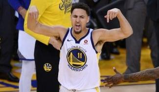 Los Warriors fuerzan el séptimo contra los Rockets con un gran Klay Thompson