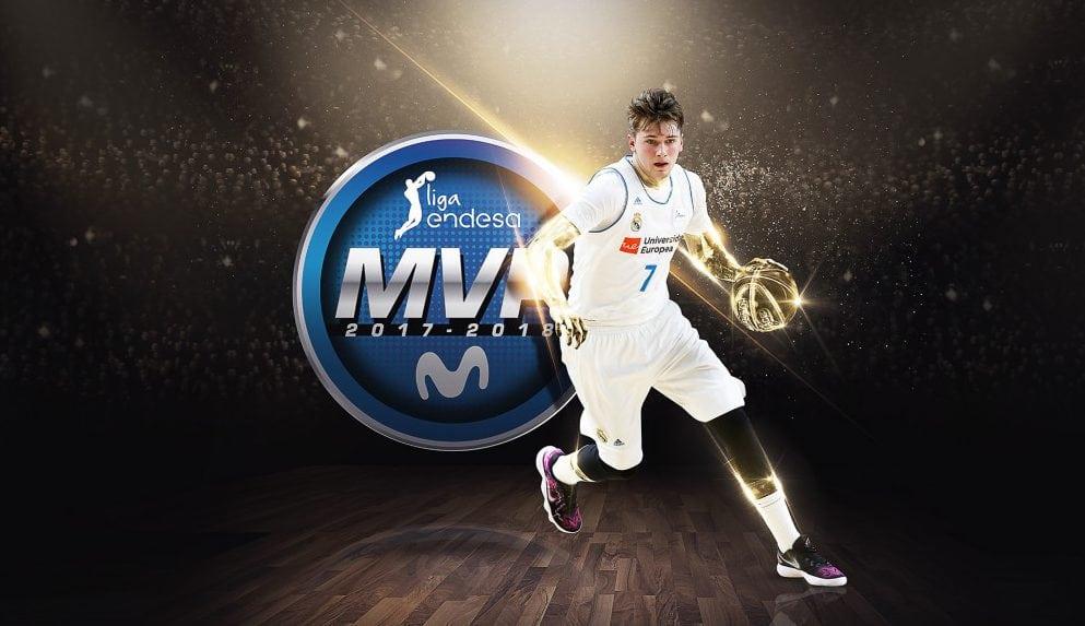 Luka Doncic, el MVP más joven de la historia en la Liga Endesa