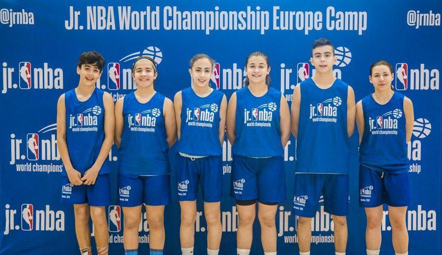 Acaba la experiencia de los seis españoles presentes en el Jr NBA World Championship Europe Camp