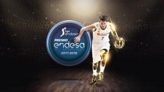Luka Doncic recibe el Premio Endesa 2018