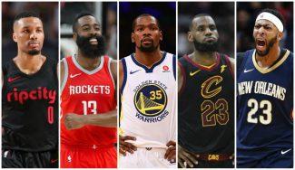 Las mejores jugadas del Quinteto Ideal de la temporada en la NBA