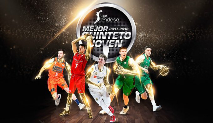 Elegido el Mejor Quinteto Joven de la temporada en la Liga Endesa