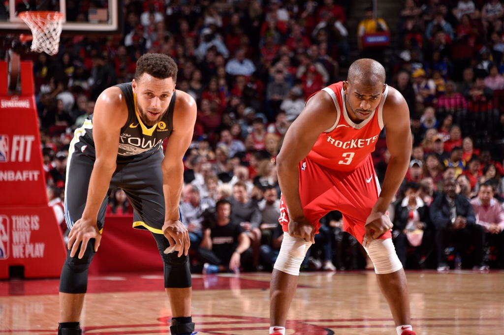 El detalle de Chris Paul con Stephen Curry que se le volvió en contra