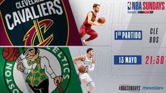 Horario en España y dónde ver los Celtics-Cavs y Rockets-Warriors de la NBA
