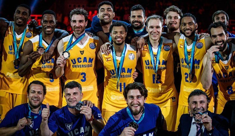 UCAM Murcia logra el tercer puesto en la Basketball Champions League