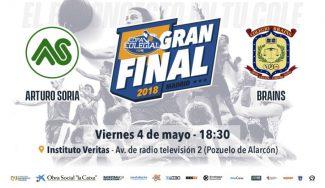 El colegio Veritas acoge la final masculina de la Copa Colegial en Madrid