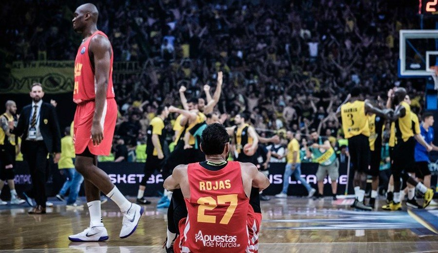 UCAM Murcia se queda a las puertas de la gloria en la Basketball Champions League