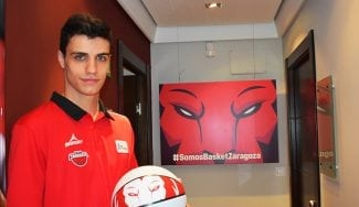Carlos Alocén renueva con Tecnyconta Zaragoza y se incorporará al primer equipo