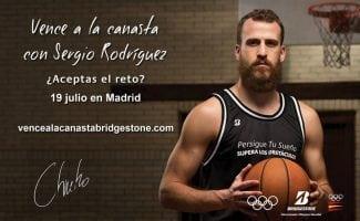 Bridgestone y Sergio Rodríguez te retan a vencer a la canasta en Madrid el próximo 19 de julio