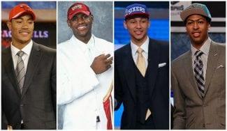 Todas los pick #1 del draft desde el año 2000 a la actualidad