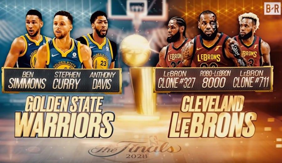 Bleacher Report presenta las Finales entre Cavs y Warriors de los próximos 30 años