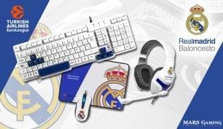 Celebra la victoria del Real Madrid con Mars Gaming y los productos oficiales del equipo