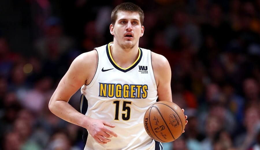 Nikola Jokic (Nuggets); Foto: Matthew Stockman / Getty Images