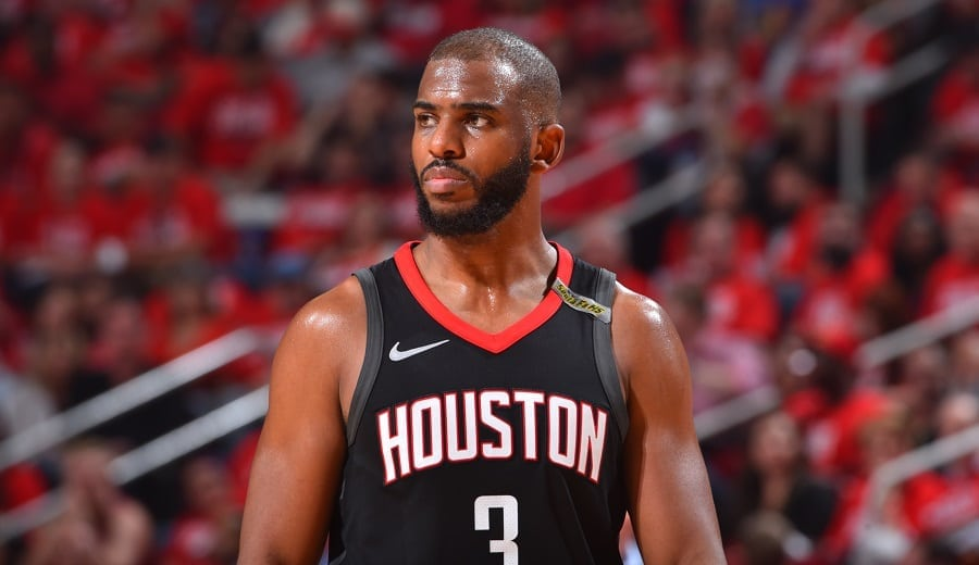 Chris Paul (Rockets); Foto: Jesse D. Garrabrant / Getty Images