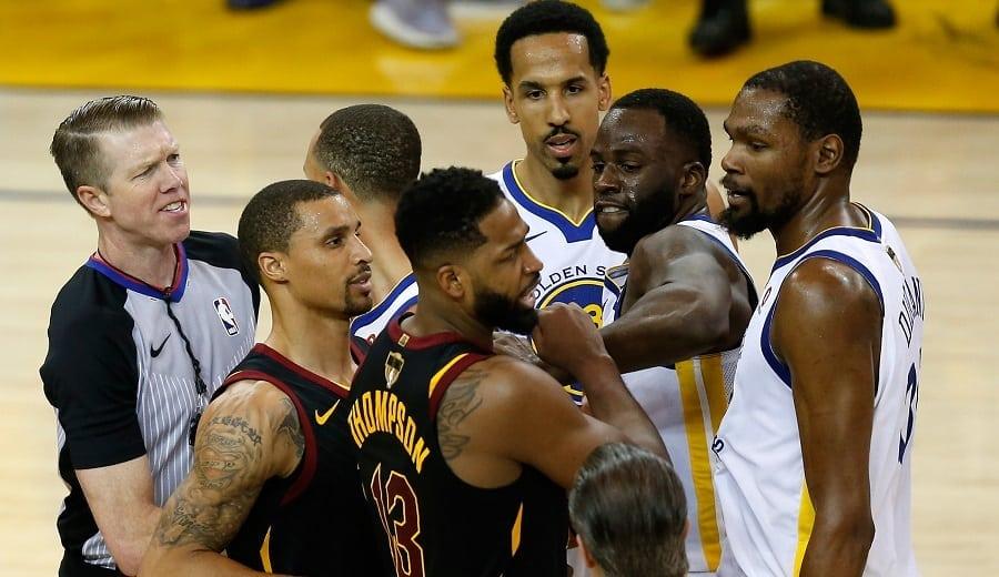 La NBA decide sobre la expulsión de Tristan Thompson en el 'Game 1'