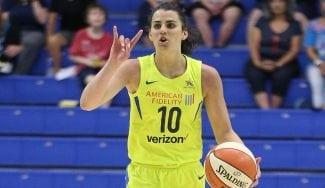 Leticia Romero debuta en la WNBA con Dallas Wings