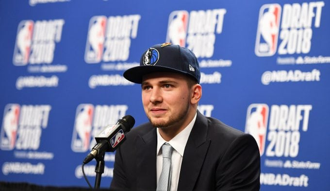 Las primeras palabras de Luka Doncic como jugador de la NBA