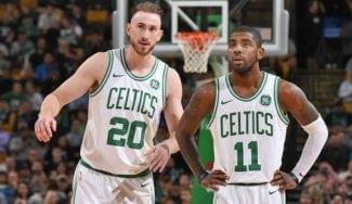 Kyrie Irving y Gordon Hayward llegarán listos a la pretemporada con los Celtics