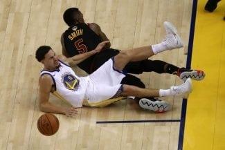 Klay Thompson 'se apunta' al segundo partido de las Finales NBA