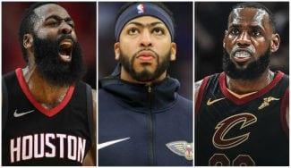El Top 10 de los tres aspirantes al MVP de la temporada NBA