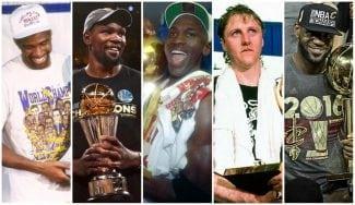 Todos los MVP de la historia de las Finales de la NBA