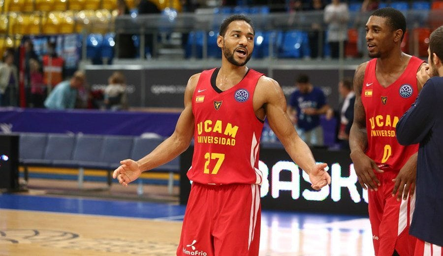 Sadiel Rojas renueva dos temporadas más con el UCAM Murcia