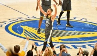 Los Golden State Warriors no dan ninguna opción a los Cleveland Cavaliers