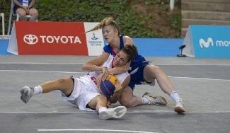 La Selección Española de 3×3, plata en los Juegos Mediterráneos de Tarragona
