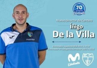 Íñigo de la Villa se convierte en el nuevo Director de Cantera de Movistar Estudiantes