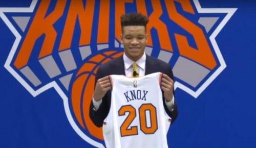El consejo de Porzingis a Kevin Knox, el novato de los Knicks