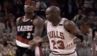 El día que Michael Jordan se encogió de hombros… tras arrollar a los Blazers