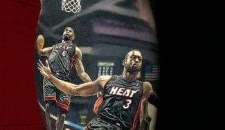 Aunque no lo parezca, éste es el tatuaje NBA más realista que jamás hayas visto
