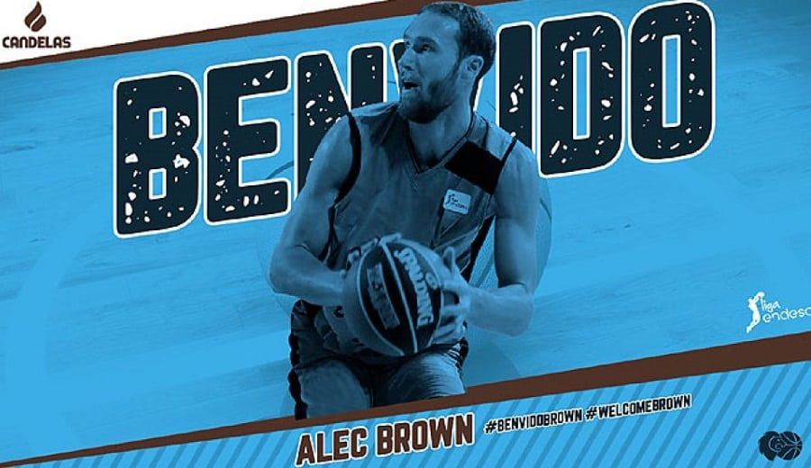 Alec Brown regresa a Galicia tras su etapa en Movistar Estudiantes