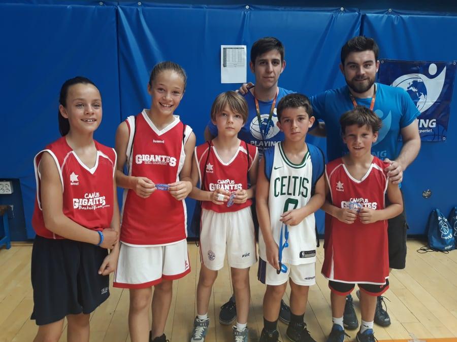 Playing y su torneo 3×3 solidario en los Campus Gigantes Basket Lover