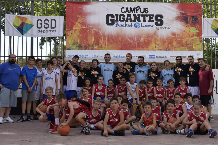 Una semana fantástica en el Campus Gigantes Basket Lover de Alcalá