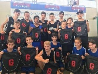 Fin al Jr Camp Gigantes Basket Lover: entrega de premios de un evento único