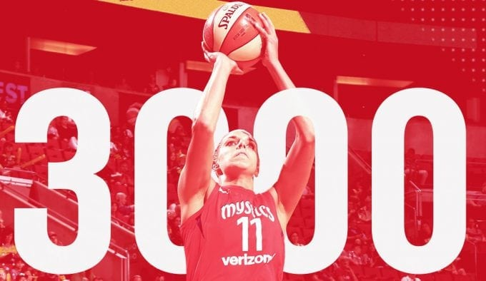 Elena Delle Donne hace historia anotadora en la WNBA