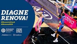 Moussa Diagne renueva dos temporadas con el Morabanc Andorra