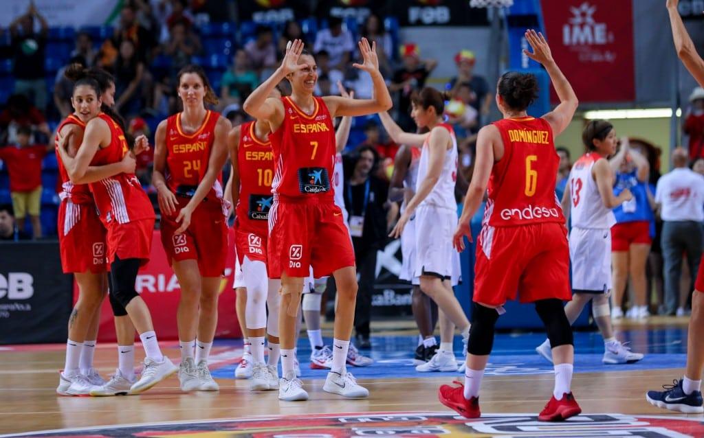 España cierra con dos victorias la primera fase de preparación para el Mundial