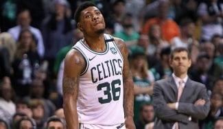 """Marcus Smart está """"herido y disgustado"""" con los Celtics"""